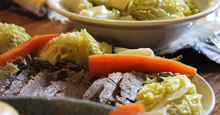 Le corned beef de la Saint Patrick