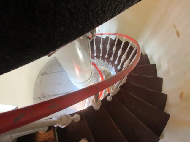 Leuchtturm Treppe