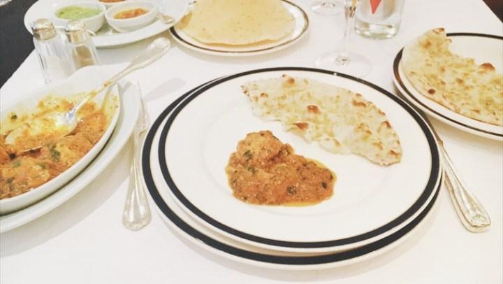 New Balal restaurant, Paris, Pakistani, Indian, food, chicken tikka masala, naan