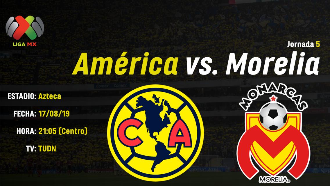 Previo_Apertura_2019_Club_America_Morelia