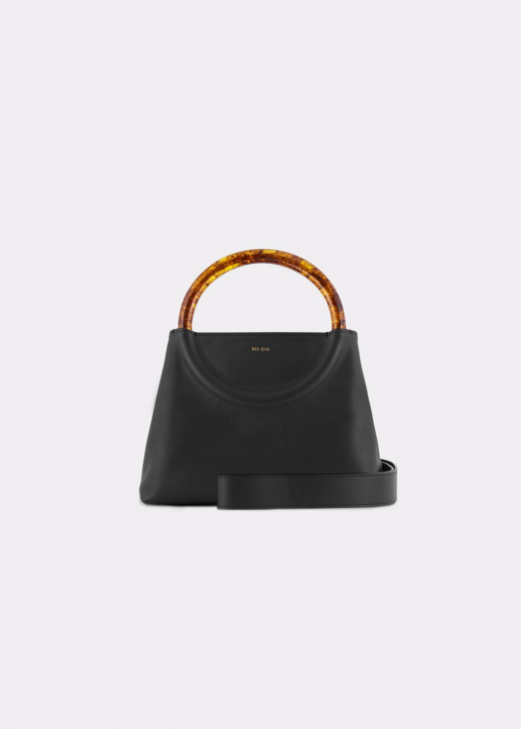 NIDO Bolla Mini Black/Amber_ shoulder strap view