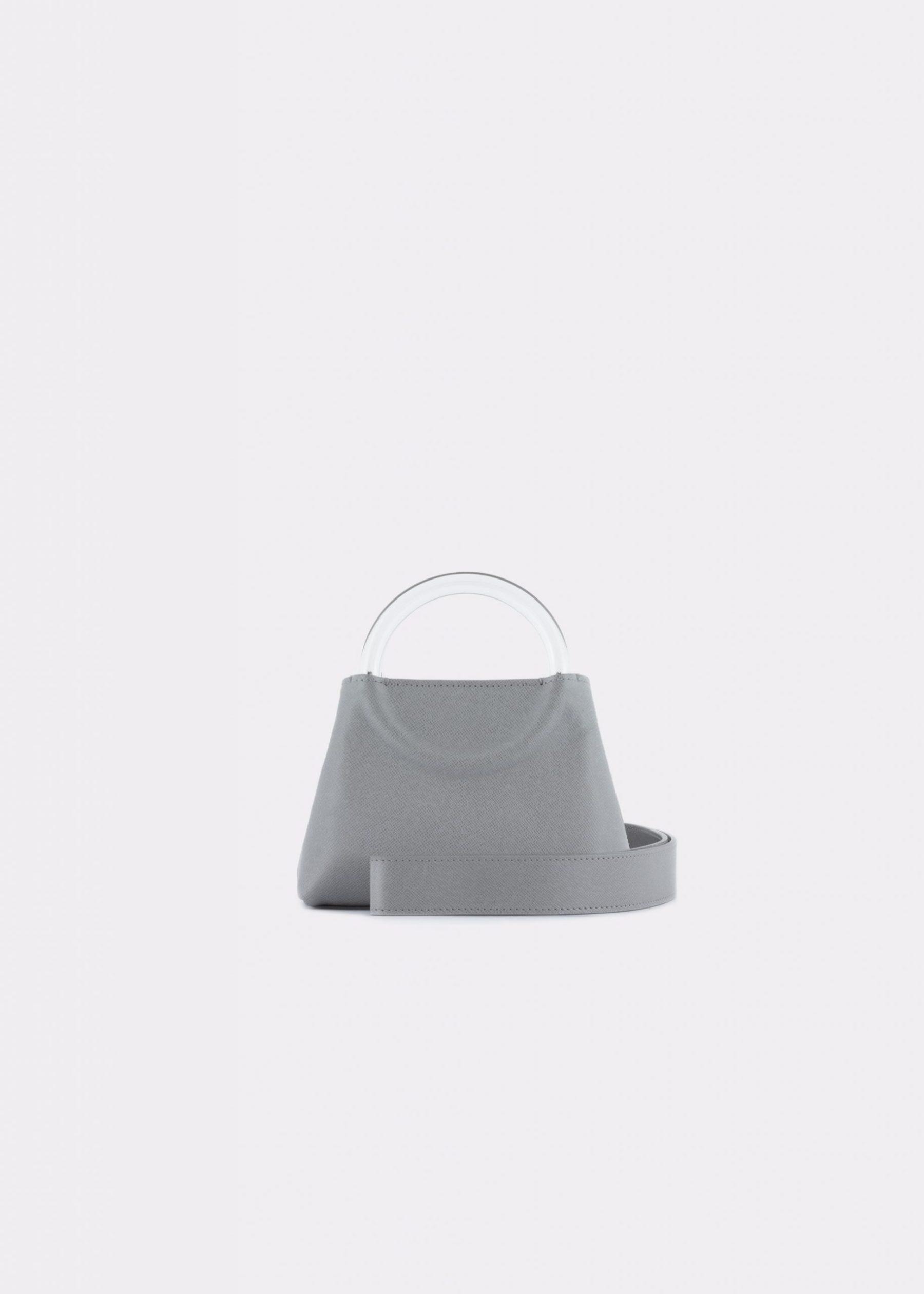 NIDO-Bolla_Micro-bag-Gray_shoulderstrap view
