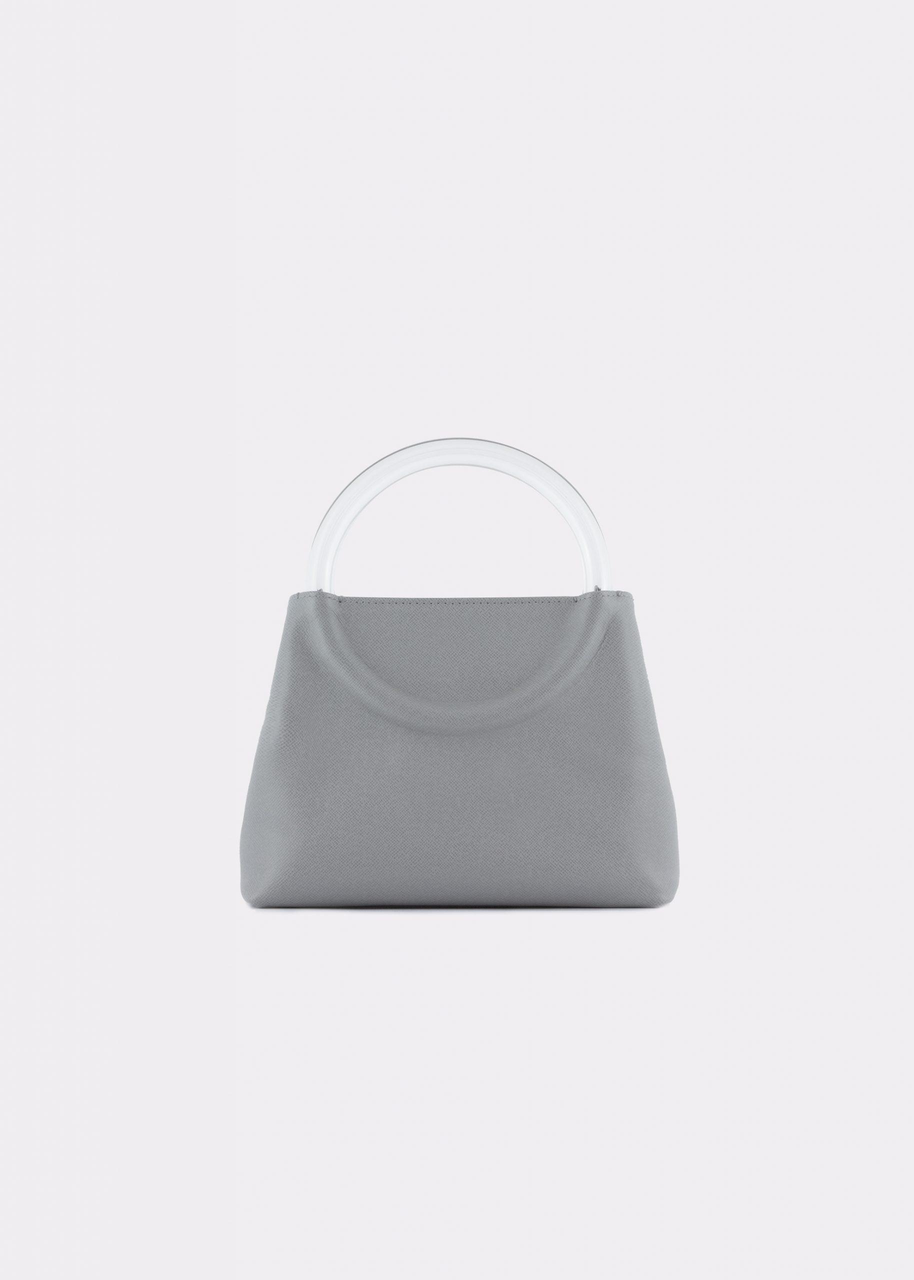NIDO-Bolla_Mini-bag-grey_FRONT view