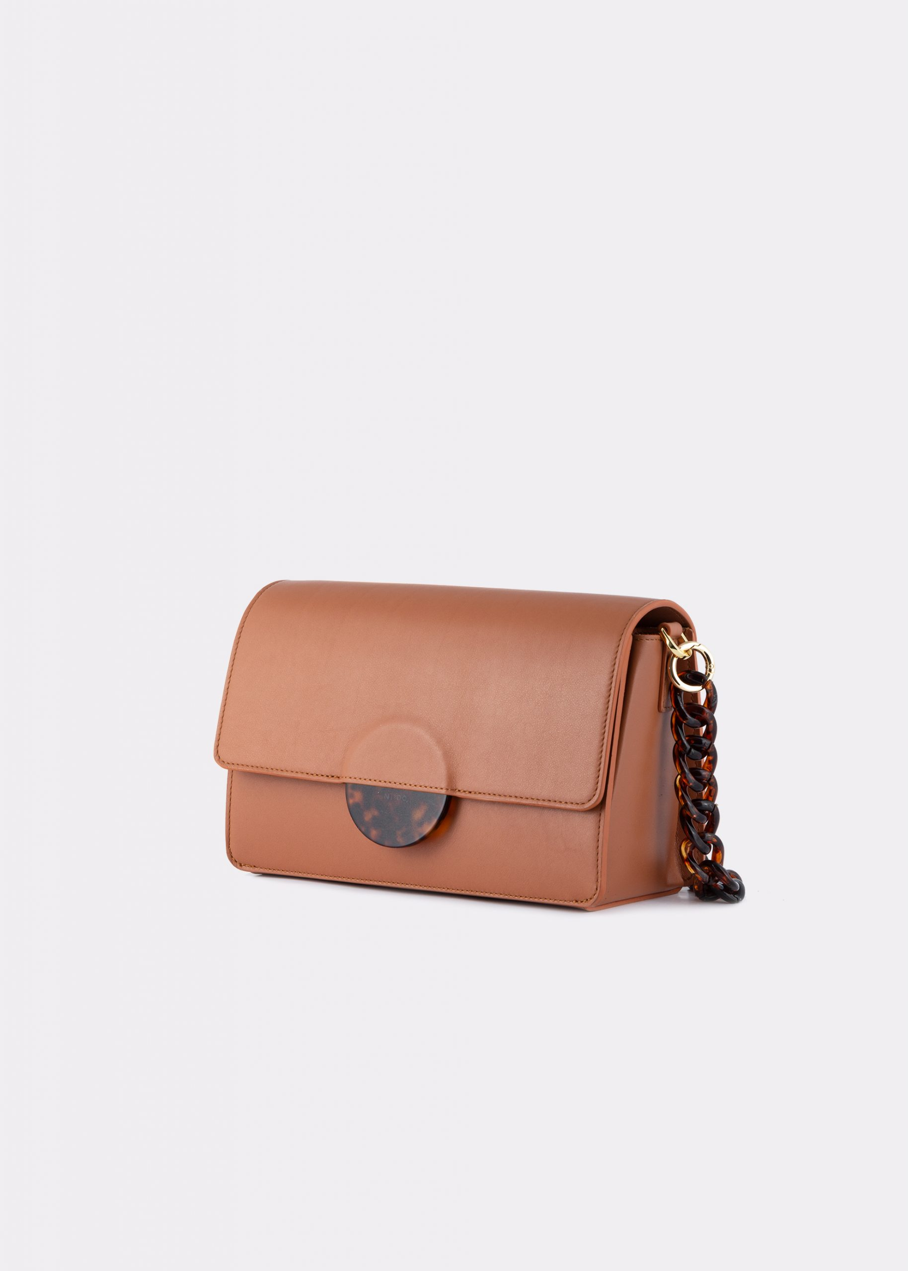 NIDO CUORE Maxi bag bisquit_SIDE view
