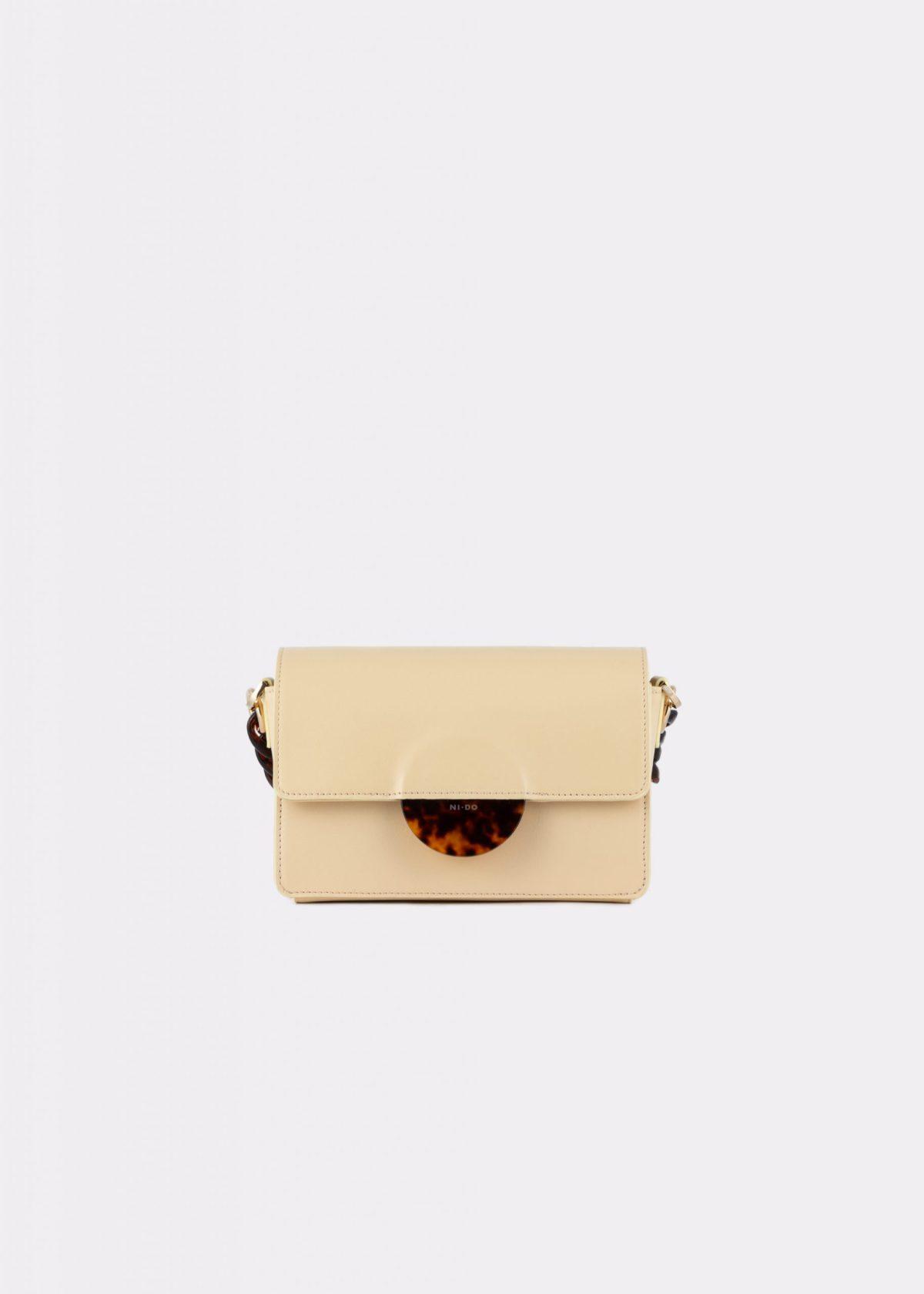 NIDO Cuore Mini bag Vanilla front view