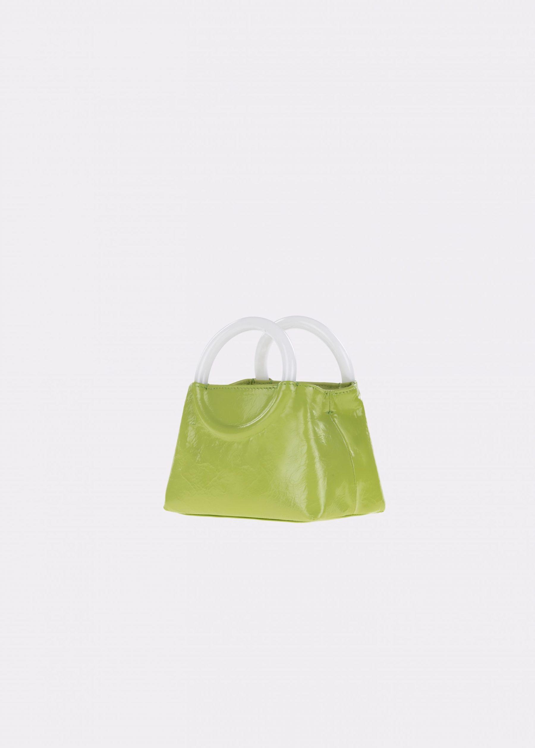 NIDO-Bolla_Mini-bag-apple-Pearl_side view
