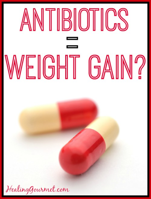 antibiotics cause weight gain
