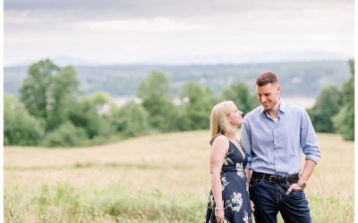 A summer engagement session at Poets Walk Park // Rhinebeck NY
