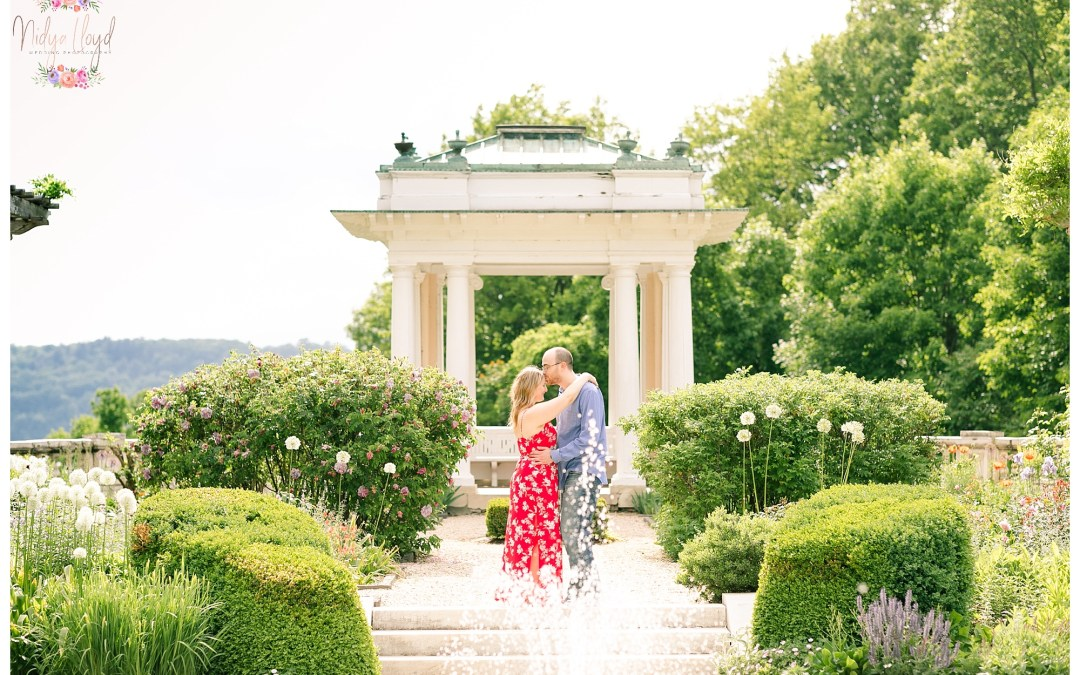 Hudson Valley New York Engagement Session