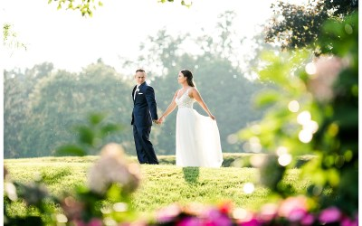 Chelsea and Collin- A lush spring wedding