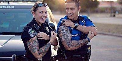 Tatuaże w Policji