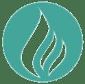 vlam die 265000 kuub gasbesparing door gebruik waterbesparende douchekop weergeeft