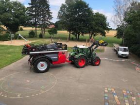 Landwirtschaft an der Friedewalder Grundschule.
