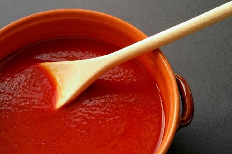 domowy sos pomidorowy