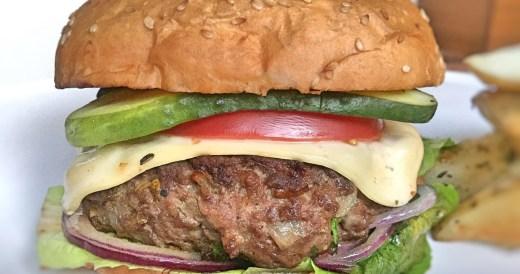 Przepis na burgera ze stoutem