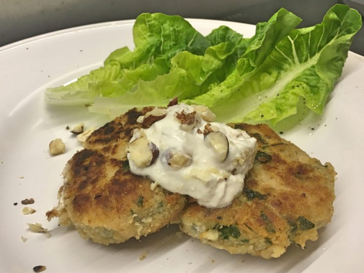 Przepis na fishcake czyli ciasteczka rybne