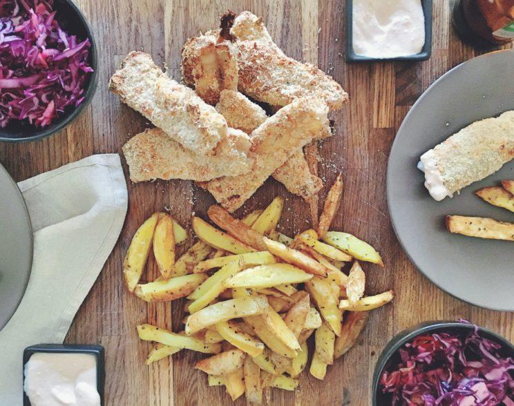 Przepis na fish and chips bez smażenia