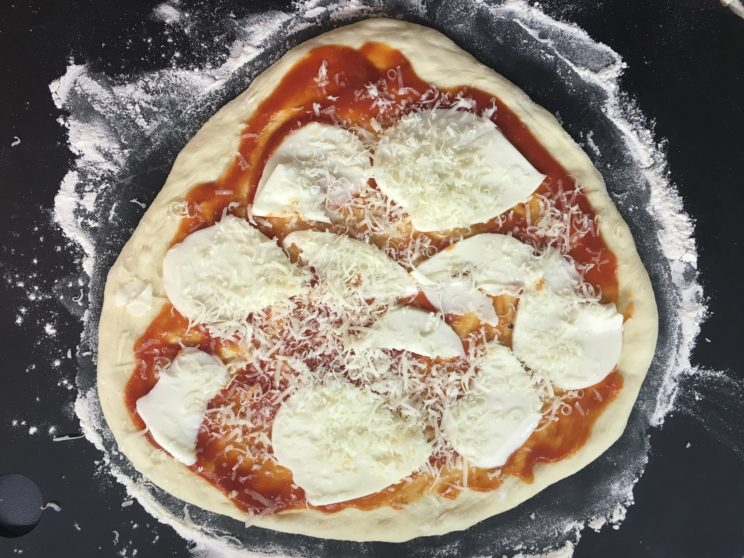 idealne ciasto na pizzę film
