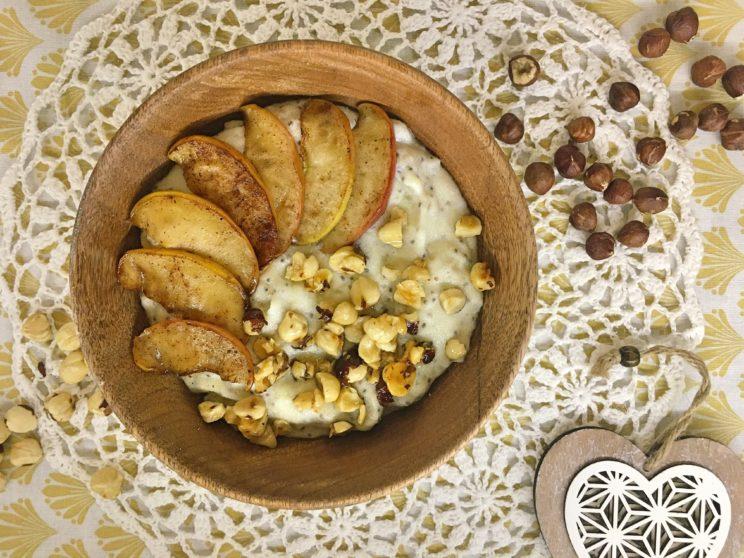 Kasza manna z nasionami chia