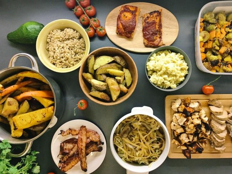 obiady na tydzień w jeden dzień