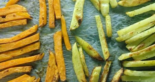frytki z warzyw