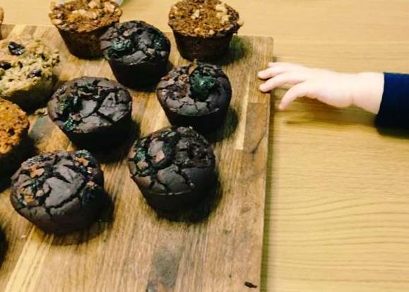 Warzywne muffiny bez mąki