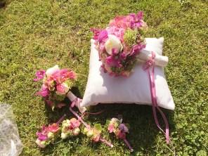 Brautstrauß und Anstecksträuße