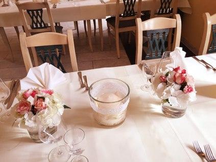 Hochzeit Tischschmuck