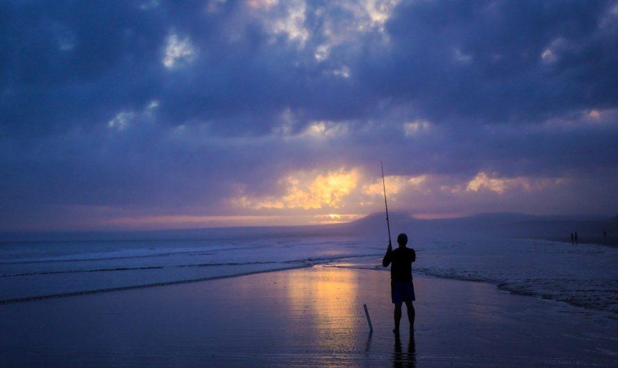 Папа мой ловил рыбу…