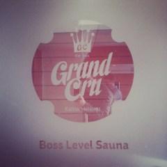 Grand Cru boss level sauna
