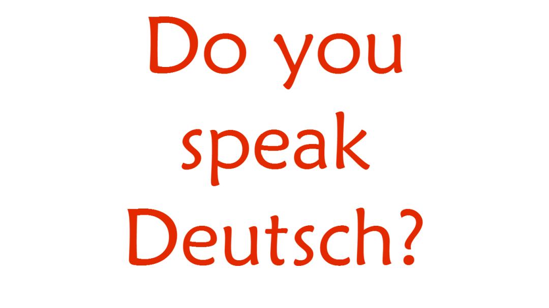 Jak mówi się po niemiecku w anglojęzycznych filmach?