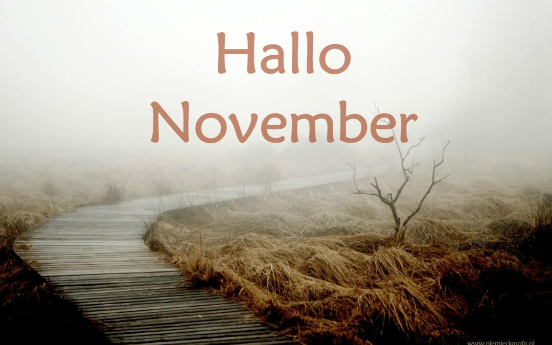 Podsumowanie października i wyzwanie listopadowe