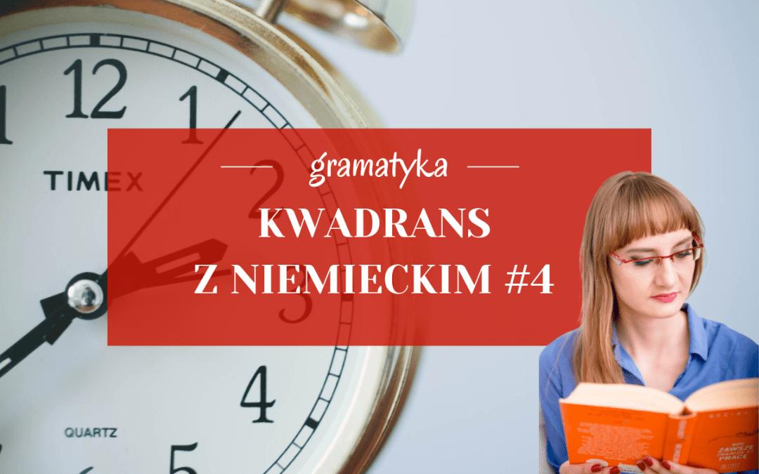 Kwadrans z niemieckim #4 – czasowniki modalne