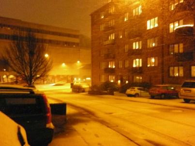 Snow on my street