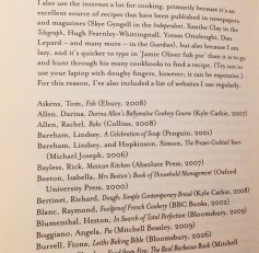 """Solidna bibliografia to wymarzona lista prezentów. """"Perfect"""" Felicity Cloake, Fig Tree 2011"""