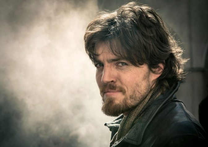 Picture shows: Athos (TOM BURKE)