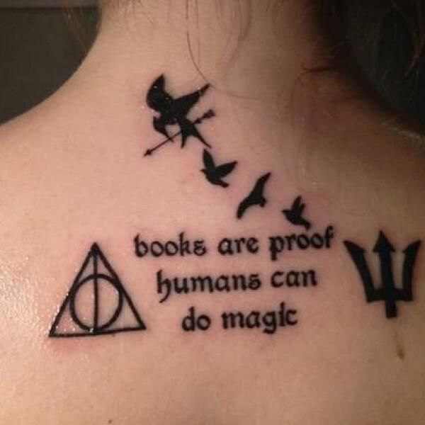 awesome-book-tattoo