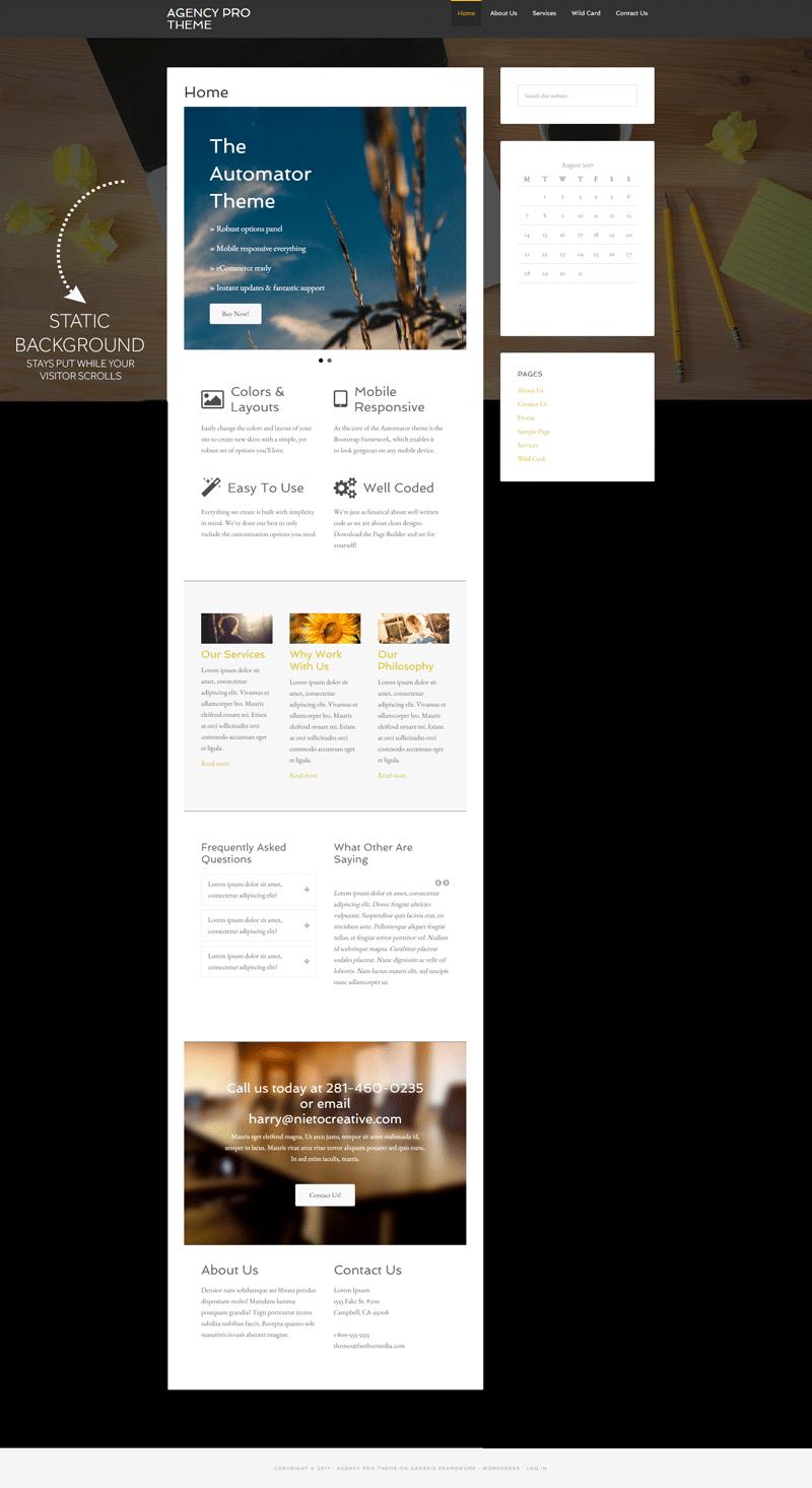 Web Design Layout Options
