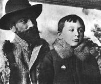 Stanisław Ignacy Witkiewicz z ojcem