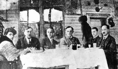 Szymanowski, Iwaszkiewicze i Stanisław Ignacy Witkiewicz