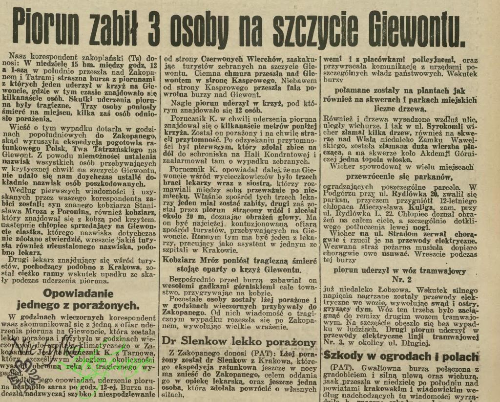 Ilustrowany Kurier Codzienny, 17 sierpnia 1937