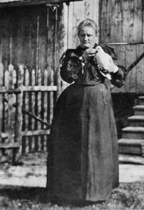Maria Witkiewiczowa, fot. Witkacy