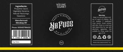 no fuss e liquid