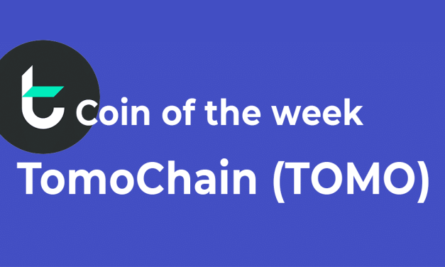 Coin of the week – TomoChain (TOMO)