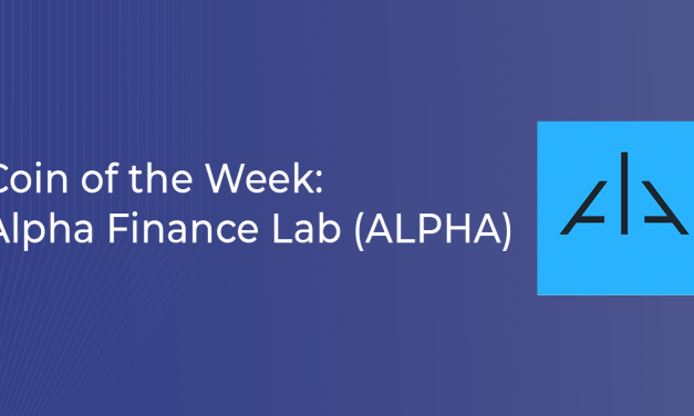 Coin of the Week: Alpha Finance Lab (ALPHA)