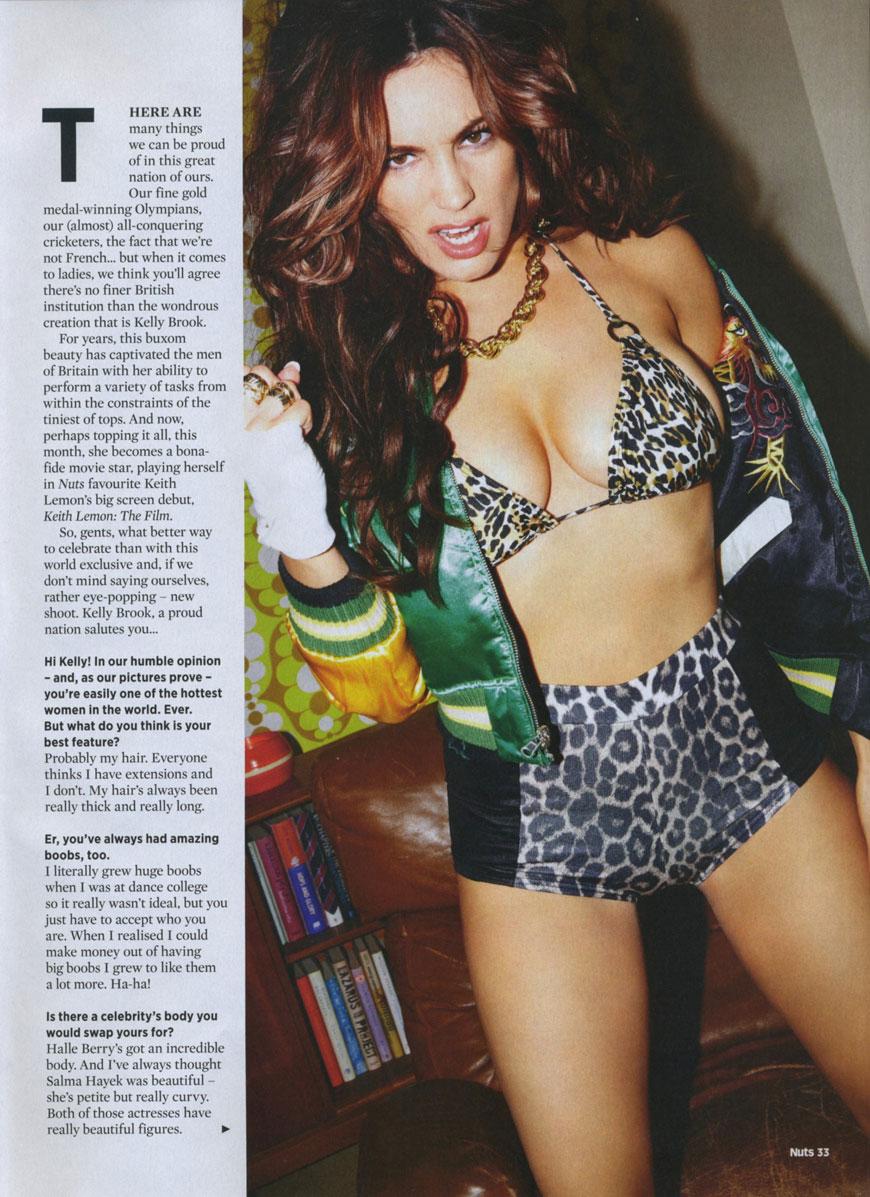 Kelly Brook - Nuts Magazine  (25)
