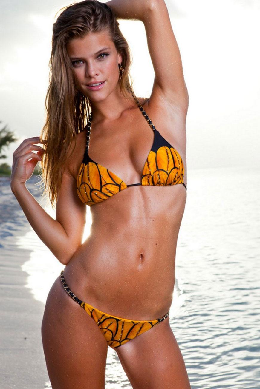 Nina Agdal - Sauvage Swimwear 2013 (30)