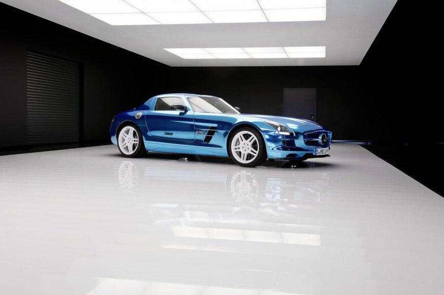 The Mercedes-Benz SLS Electric Drive (17)