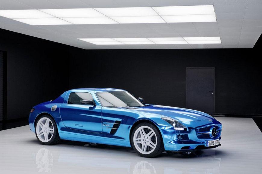The Mercedes-Benz SLS Electric Drive (16)