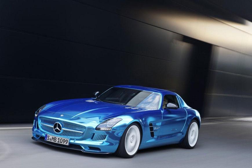 The Mercedes-Benz SLS Electric Drive (12)